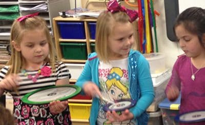 """March is """"Music in Our Schools Month""""  Today's Teachers: Darlys Lickliter and Kanda Hill, Woodrow Wilson Elementary School, Bartlesville, Oklahoma"""