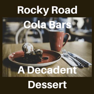 Rocky Road Cola Bars: A Decadent Dessert