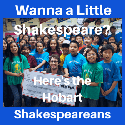 Wanna a Little Shakespeare? Here's The Hobart Shakespeareans
