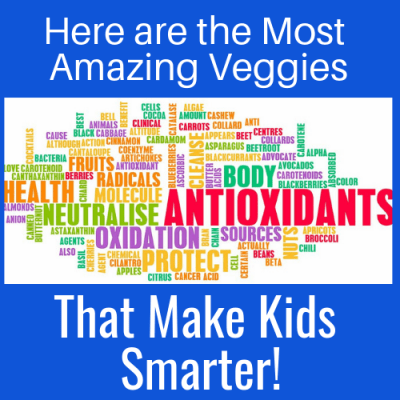 Here are the Most Amazing Veggies That Make Kids Smarter!