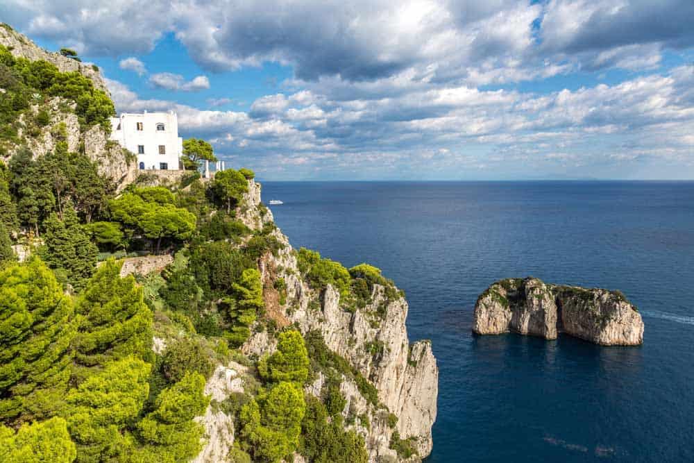 fashion music show, island of capri in Italy