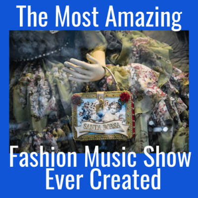 The Most Amazing Fashion Music Show Ever Created