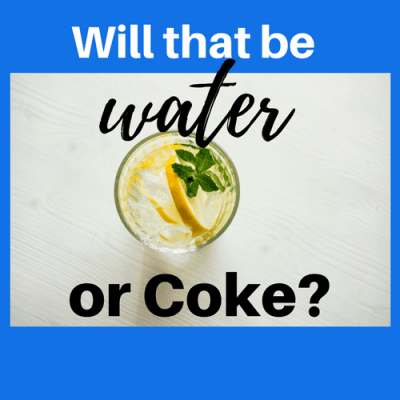 Will that be Water or Coca-Cola?