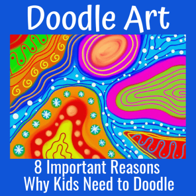 Doodle Art: Here Are 8 Important Reasons Why Kids Need to Doodle