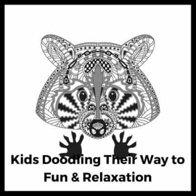 Kids Doodling Their Way to Fun and Relaxation