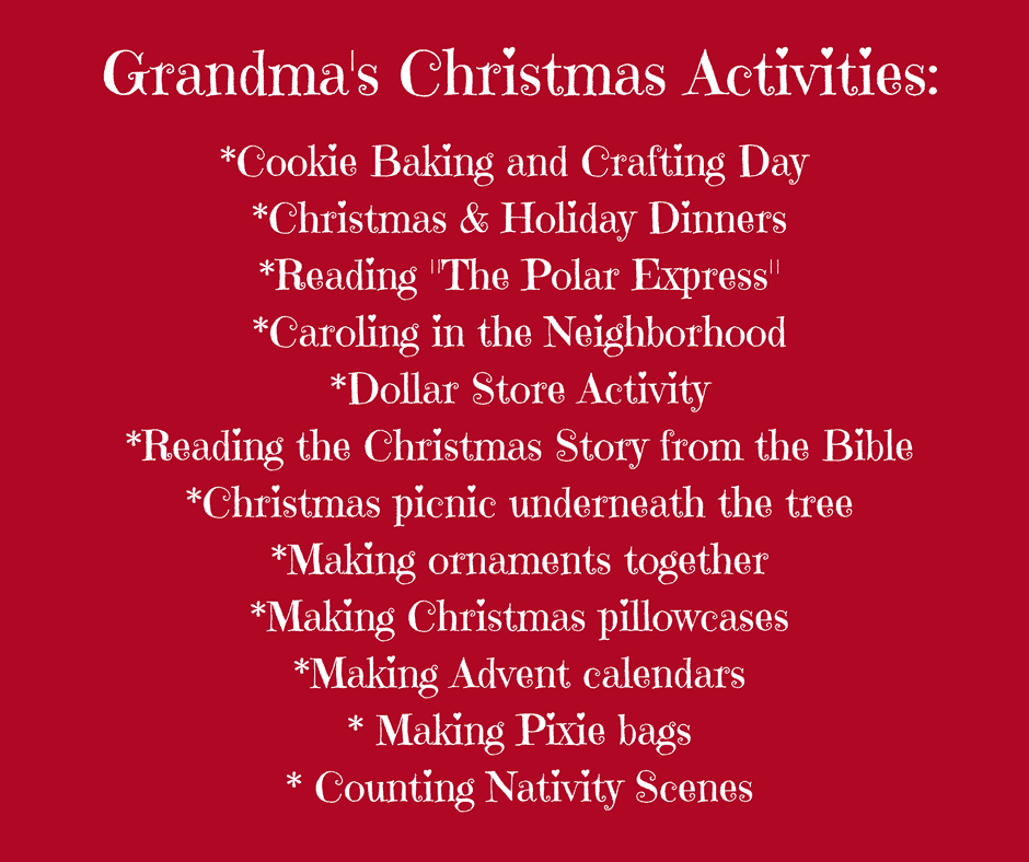 Good Traditions Brighter Children, Good Grandparenting Brighter Children, Christmas, Grandparents, holidays, fun traditions, Christmas with Grandparents