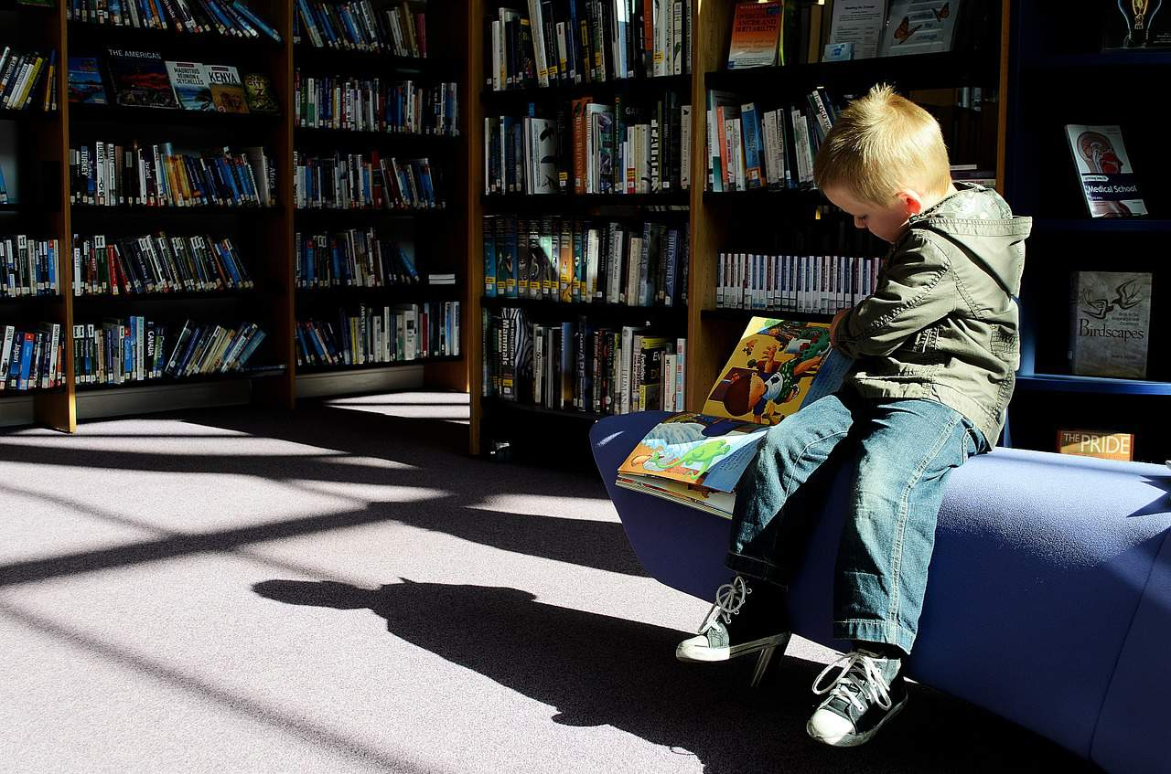 library is the best place for kids