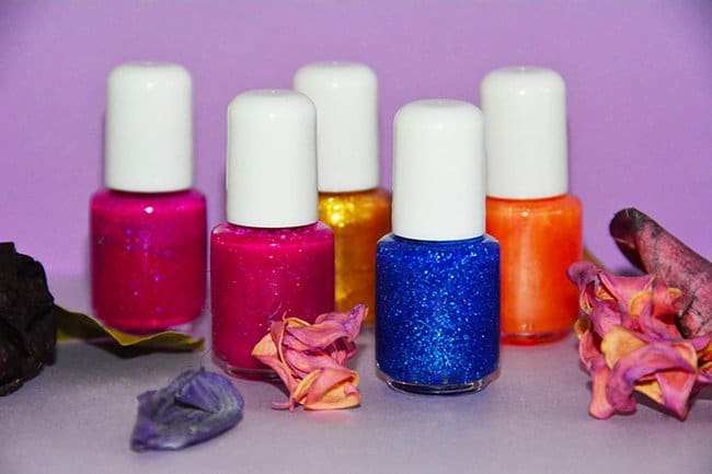 how to make fingernail polish
