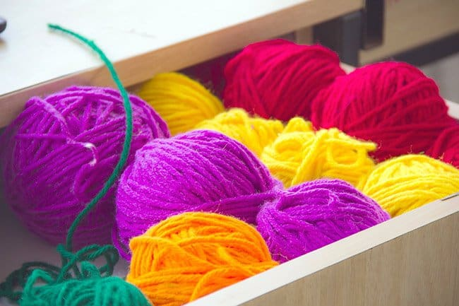 how to practice gratitude, balls of yarn