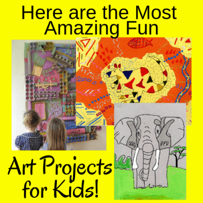 Here are the Most Amazing Fun Art Activities for Kids!