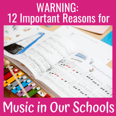 Warning: 12 Important Reasons for Music in Our Schools