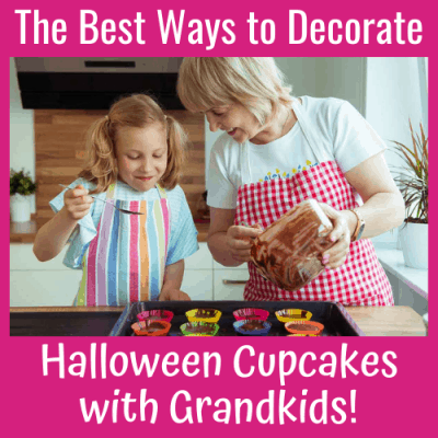 The Best Ways to Decorate Halloween Cupcakes with Grandkids