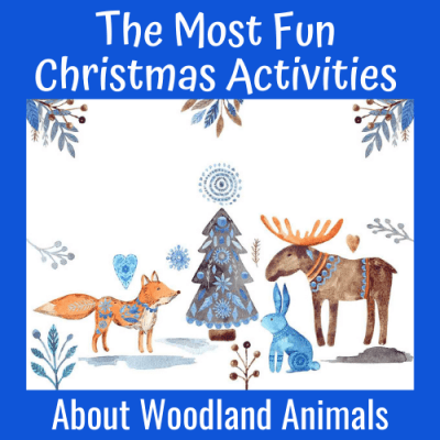 The Most Fun Christmas Activities About Woodland Animals